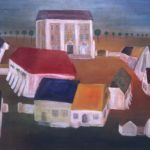 60/80, oil/canvas, Central Bohemian Gallery, Prague, CR