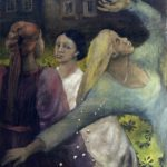110/95, oil/canvas, the Karlín District of Prague, the House of Light, HIV