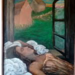 85/70, oil/canvas, the painter´s collection