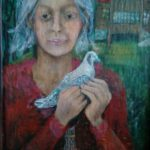 50/45, oil/hardboard, the painter´s collection