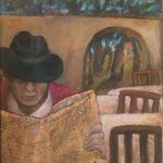 60/55, oil/vanvas/paper, oil/canvas/paper, private collection