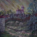 75/60, oil/canvas, Munificial Office, Nový Knín