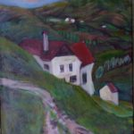 50/45, oil/canvas, the painter´s collection