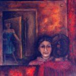oil/canvas, Picture Gallery, Dobříš, 1986