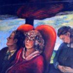 100/90, oil/canvas, private collection, Austria, 1995