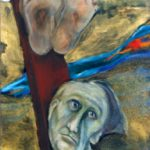 70/60, oil/canvas, Convent of the Trappists, Poličany, 1991